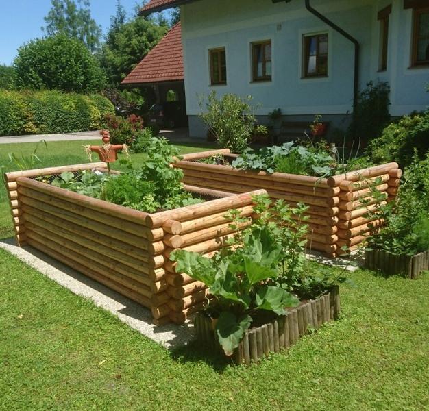 Ideen Rund Um S Holz Hochbeet